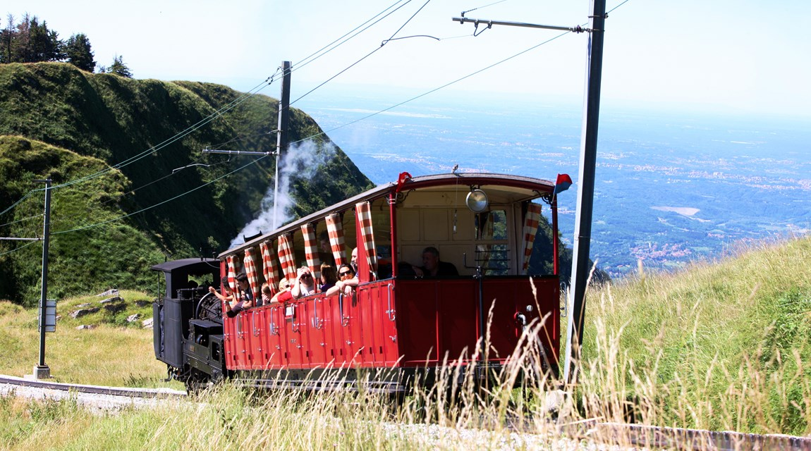 August 23th - Steam train